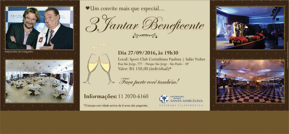 Jantar Beneficente <br />