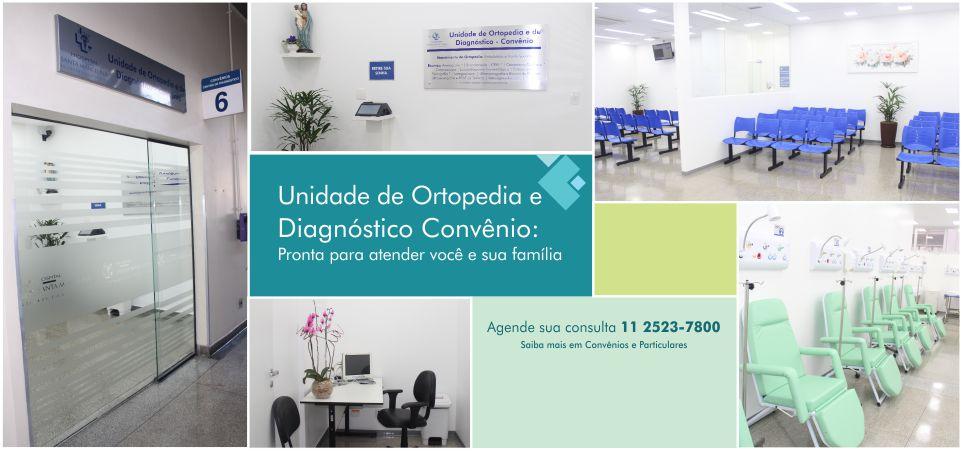 Unidade de Ortopedia e Diagnóstico Convênio: Pronta para atender você e sua família <br />