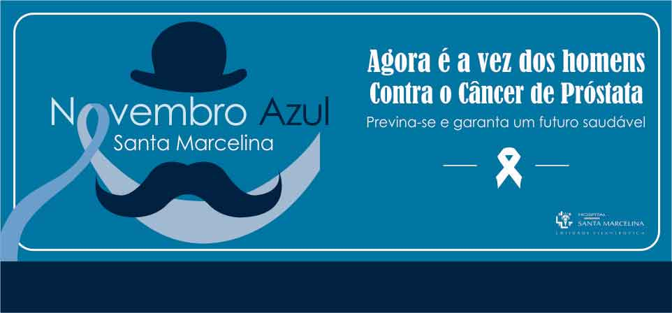 Novembro Azul Santa Marcelina <br />